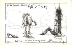 Greetings from Arizona, at peace with the world