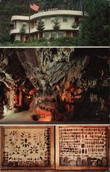 World Famous Indian Caverns Postcard