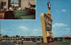 Interior & Exterior Views of the Holiday Inn Postcard