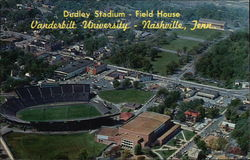 Aerial View of Dudley Stadium Field House - Vanderbilt University