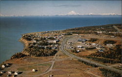 Aerial View of Kenai Postcard