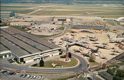 Aerial View of Air Force Museum, Wright-Patterson Air Force Base