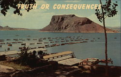 Elephant Butte and Lake