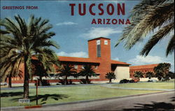 Greetings From the Student Union Building, University of Arizona