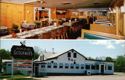 Interior & Exterior Views of Ma Glockner's Restaurant