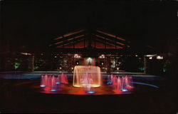 Cape Coral Yacht and Racket Club - Lighted Fountain