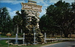 Entrance to FLorida's famous Silver Springs