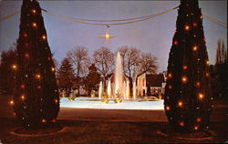 Christmas Scene, The Crystal Fountain
