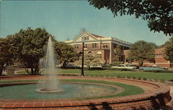 East Carolina College - Fountain, Wright Circle