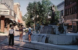 Downtown Mall Postcard