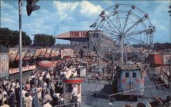 Partial View of Midway of the York Interstate Fair
