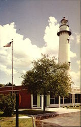 St. Simons lighthouse and new Post Office