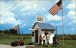 Smallest Post Office Building in the U.S Postcard