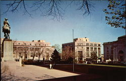Rodney Square showing Post Office and Public Building