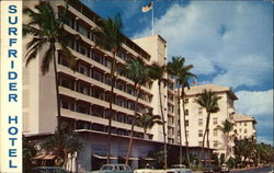 Famous Surfrider & Moana Hotel with a Beautiful Viewl of Majestic Diamond Head