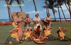 Performers of the Kodak Hula Show