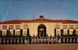 Marine Drum and Bugle Corps at Marine Corps Recruit Depot