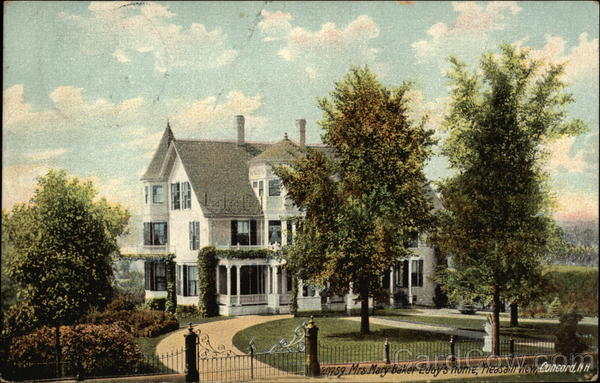 Pleasant View - Mrs Mary Baker Eddy's Home Concord New Hampshire