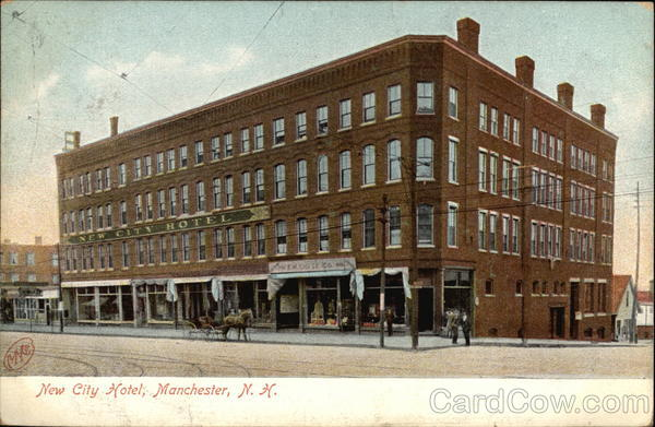 Street View of New City Hotel Manchester New Hampshire