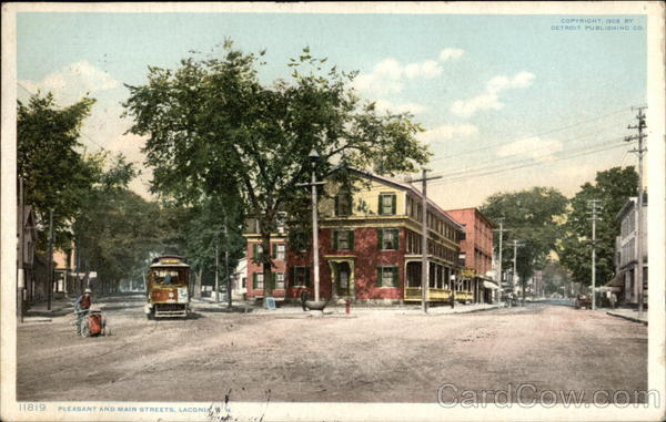 Pleasant and Main Streets Laconia New Hampshire