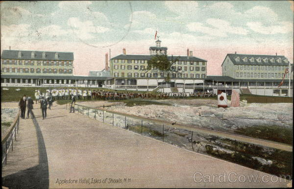 Appledore Hotel Isles of Shoals New Hampshire