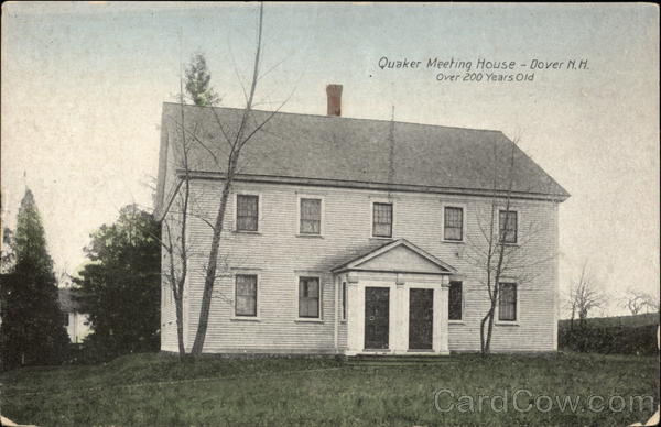 Quaker Meeting House - over 200 years old Dover New Hampshire