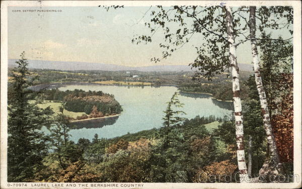 Laurel Lake and the Berkshire Country Erving Massachusetts
