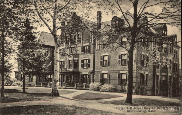 Porter Hall at Mount Holyoke College South Hadley Massachusetts