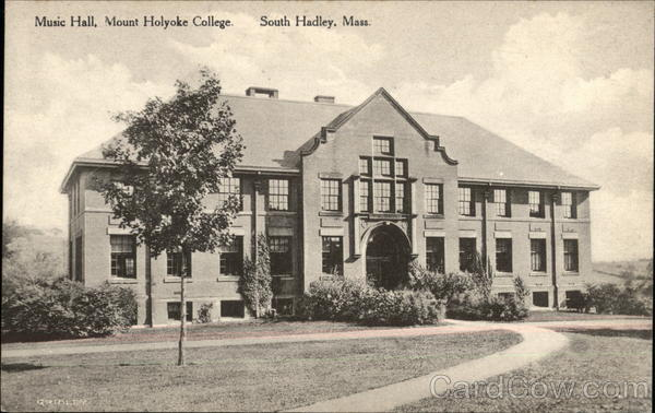 Music Hall at Mount Holyoke College South Hadley Massachusetts
