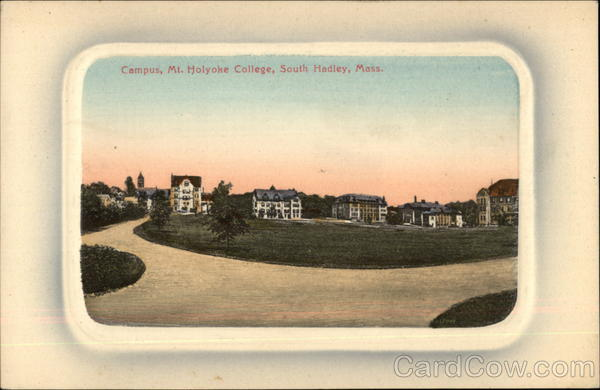 Campus at Mount Holyoke College South Hadley Massachusetts
