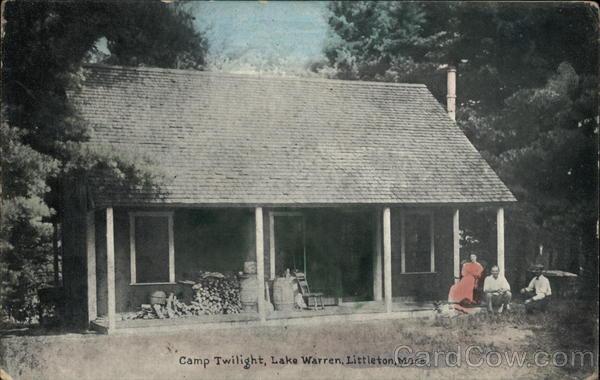 Camp Twilight at Lake Warren Littleton Massachusetts