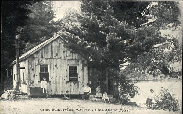 Camp Somerville at Warren Lake Littleton Massachusetts