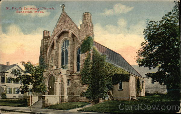 St. Paul's Episcopal Church Brockton Massachusetts