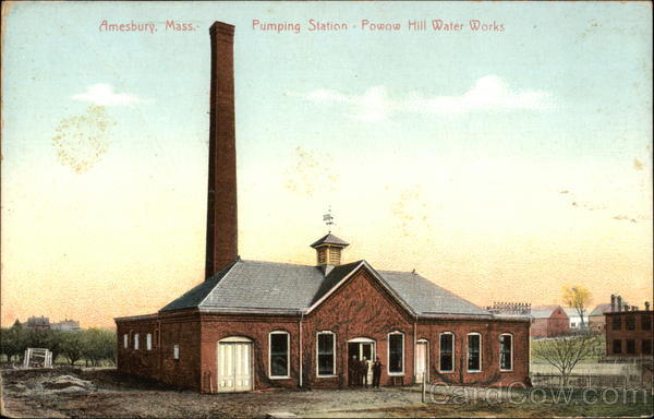 Pumping Station - Powow Hill Water Works Amesbury Massachusetts