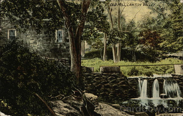 Old Mill Lawton Valley New York