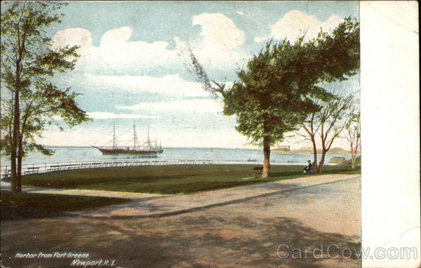 Harbor View from Fort Greene Newport Rhode Island