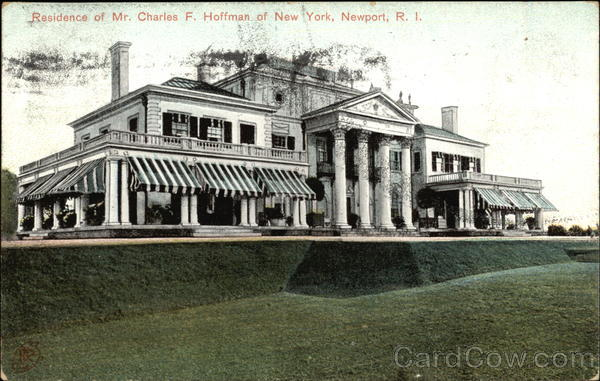 Residence of Mr. Charles F. Hoffman of New York Newport Rhode Island