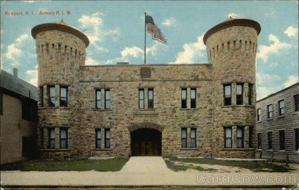 Street View of Armory R.I.M Newport Rhode Island