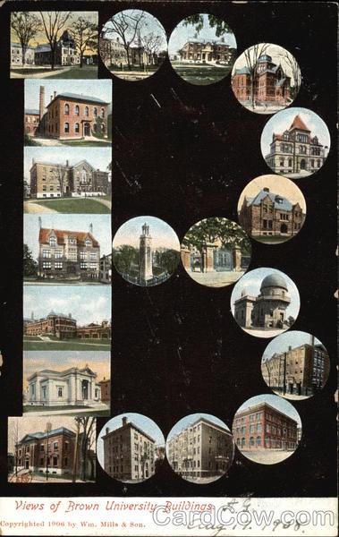 Brown University Buildings Providence Rhode Island