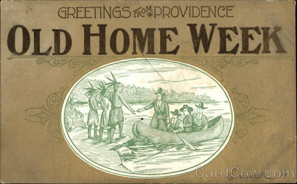 Greetings from Providence - Old Home Week Rhode Island