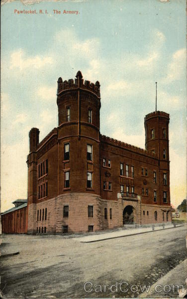 The Armory Pawtucket Rhode Island
