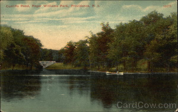 Cunliffs Pond - Roger Williams Park Providence Rhode Island