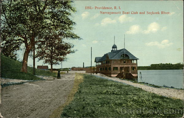 Narragansett Boat Club and Seekonk River Providence Rhode Island