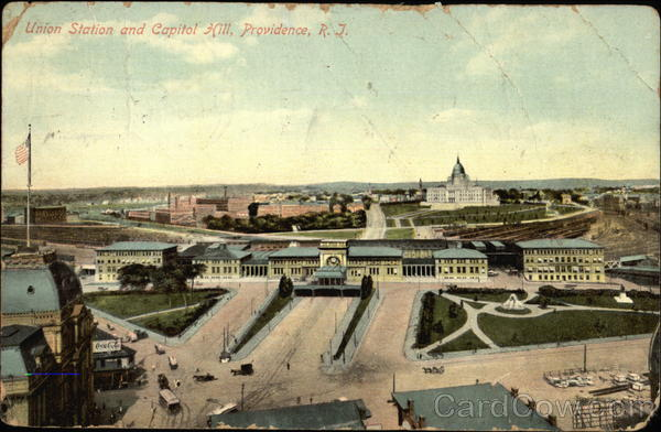 Union Station and Capitol Hill Providence Rhode Island