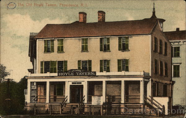 The Old Hoyle Tavern Providence Rhode Island