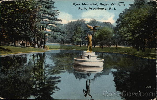 Dyer Memorial at Roger Williams Park Providence Rhode Island