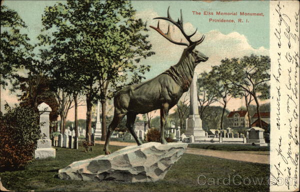 The Elks Memorial Monument Providence Rhode Island