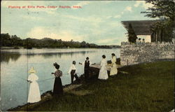 Fishing at Ellis Park