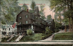 Street View of Story's Tavern Postcard