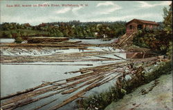 Saw Mill, Scene on Smith's River